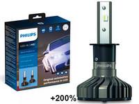 Philips LED-Ajovalopolttimopari H3 Ultinon Pro9000