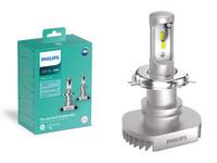 Philips LED-Ajovalopolttimopari H4 Ultinon LED