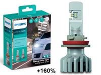 Philips LED-Ajovalopolttimopari H11 Ultinon Pro5000