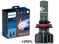 Philips LED-Ajovalopolttimopari H11 Ultinon Pro9000