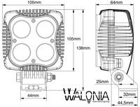 Led työvalo WALONIA PROSERIES 40W