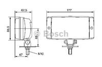 Bosch kaukovalo Pilot 150 12/24V