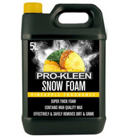 Pro-Kleen Snow Foam Pineapple 5l väritön pesuaine