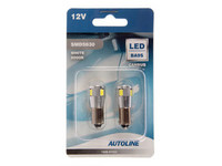 LED polttimopari, CAN-väylä BA9S 12V