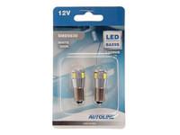 LED polttimopari, CAN-väylä BAX9S 12V