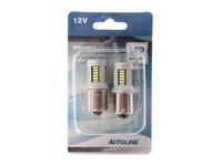 LED polttimopari, CAN-väylä BA15S 12V