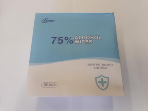 PUHDISTUSLAPPU ALKOHOLI 50kpl/ltk