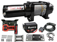 Runva Electric winch 1588 kg 12v SUP3.5 with cable