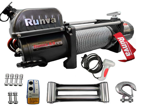 Runva Electric winch 3629 kg 12v EWL8000 with cable