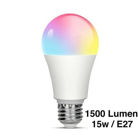 RGB älylamppu, e27, himmennettävä, WI-FI, 1500 lm