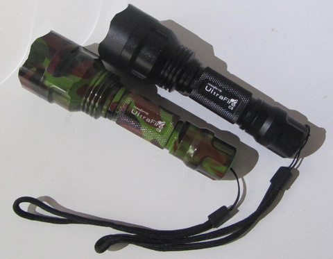 Ultrafire Cree Q5 LED Taskulamppu Maastokuvio 350lm