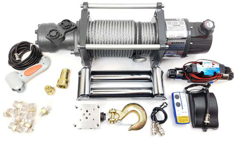 Runva Hydraulic Winch HWD10,000 4536KG incl. Wireless remote control