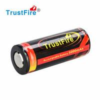 Trustfire 5000 mAh li-ion akku 26650