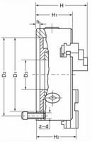 Sorvin 3-leukapakka 160mm, D142 3xM8 Itsekeskittävä