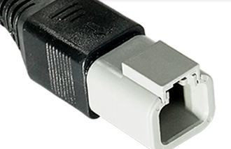 Deutsch liitin 30 cm lisävaloille 2-pin