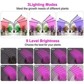 Qifan LED kasvilamppu 1500lm, 5-Osainen 5V/3A