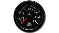 iGauge Boost Pressure Gauge 4BAR 52mm, Black
