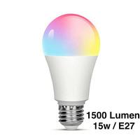 RGB smart LED Bulb, e27, dimmingable, WI-FI, 1500 lm