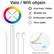 RGB äly-valonauha, 10m, himmennettävä, WI-FI