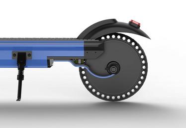 Kukudel ERS002 -sähköpotkulauta, 380W Sininen 7,5ah