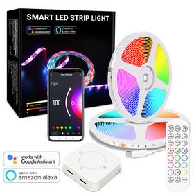 LED-Älyvalonauha 10m RGB 5050 WIFI IP65