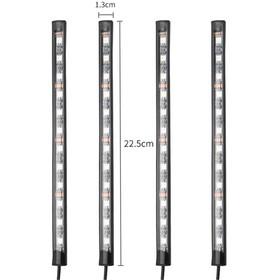 Led-valonauha 5050 auton lattiaan 48LED kaukosäätimellä
