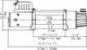 Runva EWD10,000 Sähkövinssi 12v/24v 4536kg/2041kg