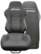 JBR Sporttipenkki/istuin (2kpl) 1013 MUSTA