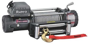 Runva EWX 12000 Sähkövinssi 12v/24v (5443kg) vaijerilla