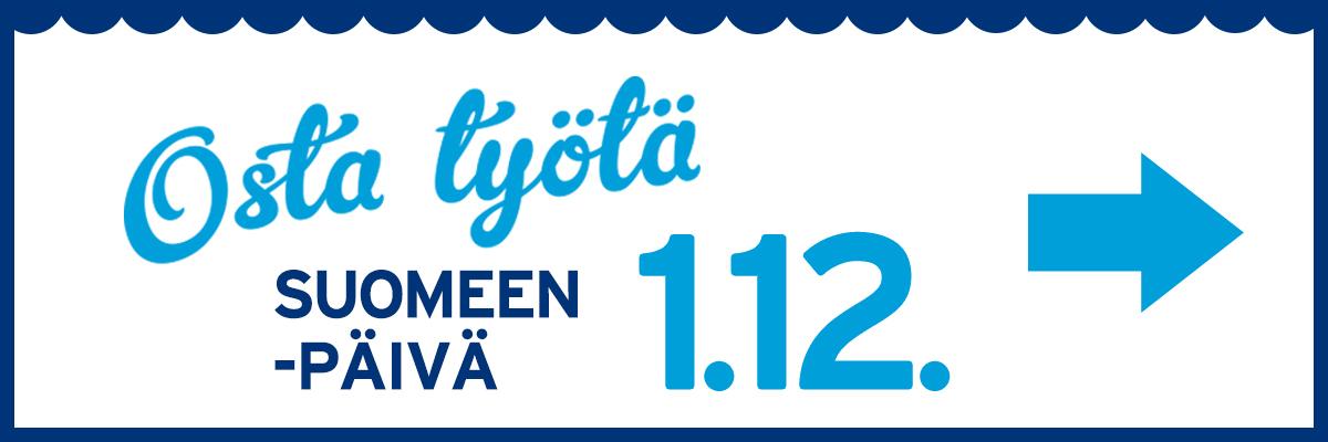 Osta työtä Suomeen 1.12.