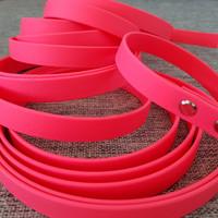 6 m PVC-päällystetty jälki- ja koulutusliina, liipasinlukko L (16 mm PVC/TPU-nauha)