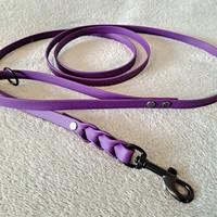 Let It QwiDog vinyylitalutin 200 cm/13 mm, violetti