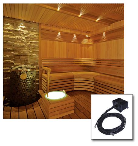 8-kuituinen Saunan valaistussarja VPAC-1527-S832