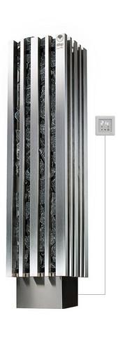 Monolith 6,9 kW sähkökiuas, Finlandia-ohjauskeskus