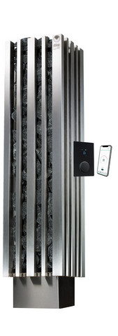 Monolith 9 kW sähkökiuas, UKU GB WiFi ohjauskeskus