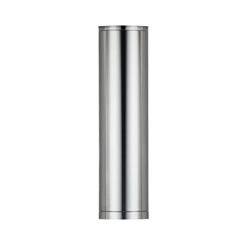 IKI T600 kiuaspiipun suora jakso 1000 mm