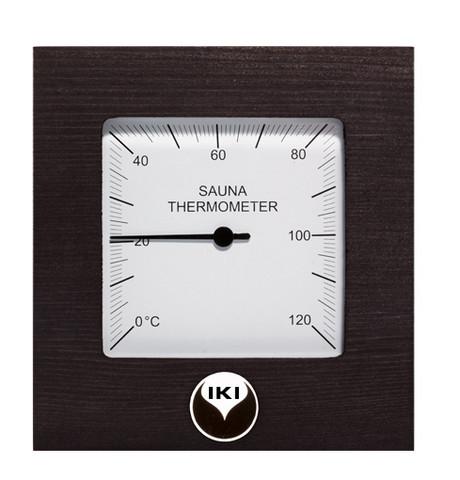 Saunan lämpömittari, musta