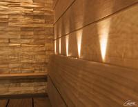 11-kuituinen Saunan valaistussarja VPAC-1527-N211