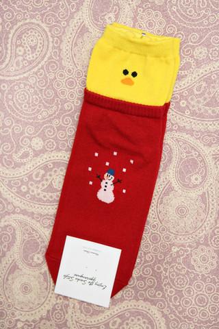 Tipu ja lumiukko sukat