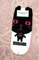 Isopäinen kissa -sukat