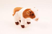 Valkoruskea lehmä