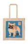 Ranskanbulldog kangaskassi