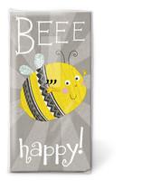 Beee happy! nenäliina