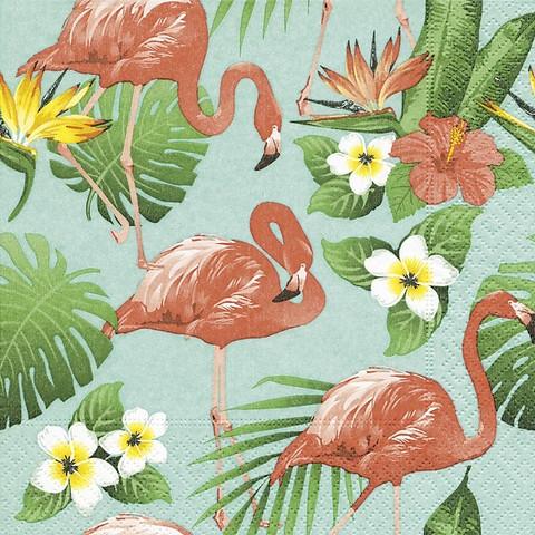 Flamingo ruokaservetti
