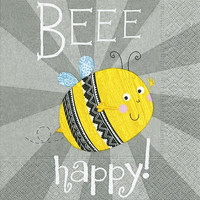 Beee Happy! kahviservetti