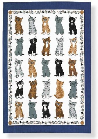 Keittiöpyyhe kissanpennut