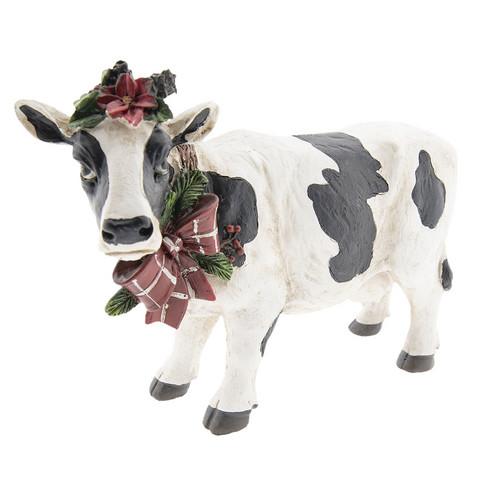 Lehmä koristeilla