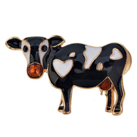 Lehmä rintakoru
