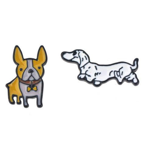 Kaksi koiraa korvikset