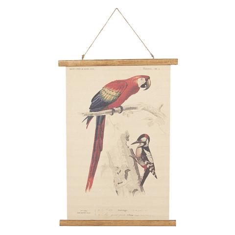 Pellavataulu linnut